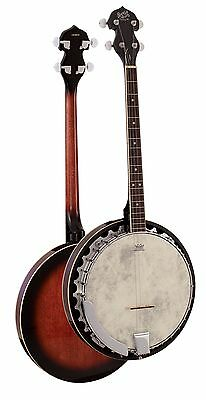 Barnes And Mullins Banjo 'Perfect' Tenor 4 String BJ304 Brand New!