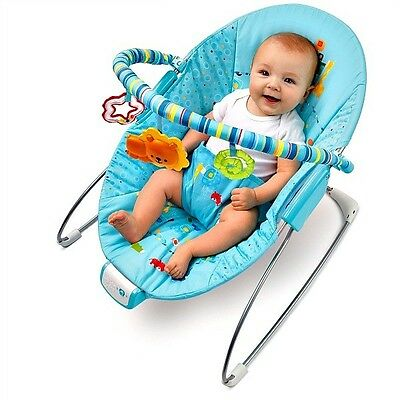Bright Starts - Fun On Safari BABY Bouncer New!