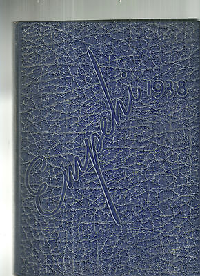 1938 Morgan Park High School Chicago Yearbook