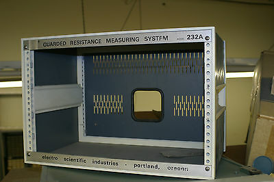 Esi Electro Scientific Ind Rack Mount Case 232A Guarded Resistance Measuring Sys