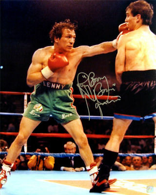 Ray Mancini 16X20 Hand Signed Autographed Boxing Photo With Proof And Coa