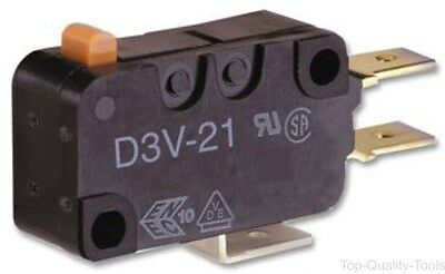 MICROSWITCH, 21A, PIN PLUNGER, Part # D3V-21G-1C5B