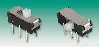 SLIDE SWITCH, MICRO MINIATURE, Part # MMP 221 B