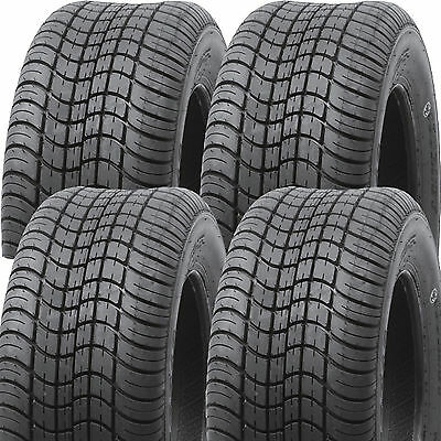 Golf Cart TIREs 225/55-12 20.5x8.5-12 Journey P823 Street or Turf DOT Legal 6ply