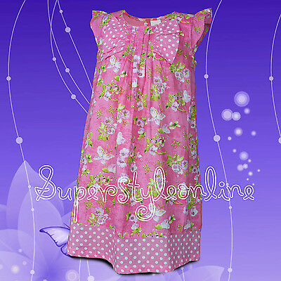 Girls Dress Floral Last Ones * Price Reduced Bargain * Ex Store Ex Next Age 2-4