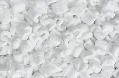 8.0 gallon White Static Free Clean Packing Peanuts Popcorn Shipping