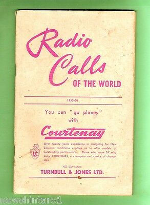 #d51.  1955 - 1956 Booklet - Radio Call Signs Of The World