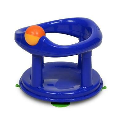 Safety 1st Swivel Bath Seat for Baby (Navy Blue) 6m to 10kg - Easy Clean