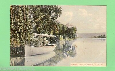 #b. Australian  Postcard - Nepean River At Penrith, Nsw