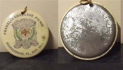Vintage Pendant for FRANKLIN CONCLAVE PICNIC Chambersburg,Pa