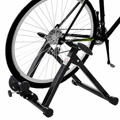Magnetic Bike Bicycle Indoor Trainer Stand Cycling Exercise Sporting Black 16