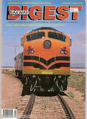 1999  Railway Digest Magazines - January To December, 12 Issues