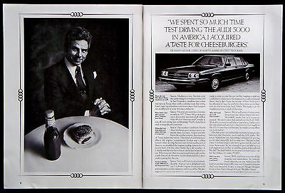 1978 Audi 5000 Car Auto Automobile Magazine Print Ad