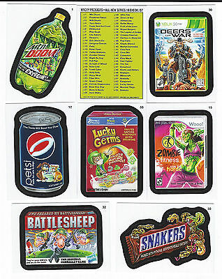 2013 Topps WACKY PACKAGES ANS Series 10 Set  (55 Cards)