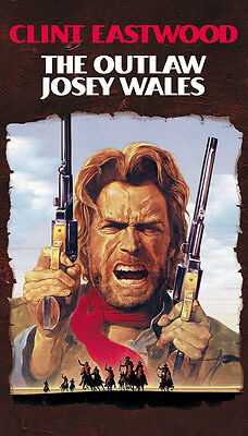 The Outlaw Josey Wales (1976) Clint Eastwood movie poster print 6