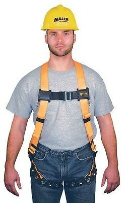 Miller Titan T4500 Universal Size Tongue-Buckle Legs Safety Body Fall Harness