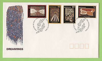 Australia 1993 Aboriginal 'Dreamings' set on First Day Cover