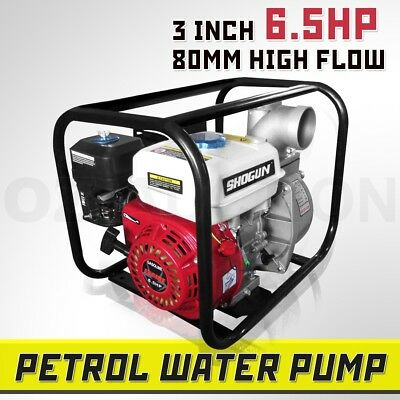 6.5HP New Petrol Water Transfer Pump High Pressure Flow Fire Fighting Irrigation