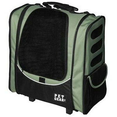 PetGear Dog Pet 5 in One 1-GO2  Escort CARRIER/CAR SEAT/BACKPACK COMBO