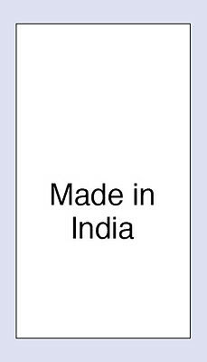 100 Made in India Sewing Washing  Care Labels,