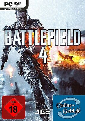 Battlefield 4 Key (Origin) (EADM) BF4 PC Key für die Vollversion