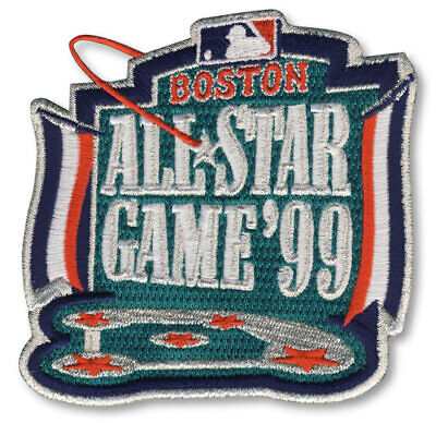 1999 MLB All Star Game In Boston Red Sox Fenway Park Sleeve Jersey Logo Patch