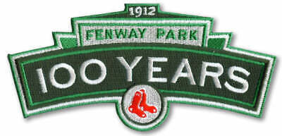 1912 - 2012 Boston Red Sox Fenway Park 100th Years Logo Anniversary Jersey Patch