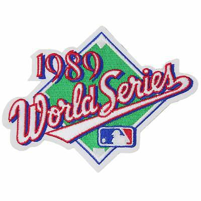 1989 MLB World Series Logo 'Battle Of The Bay' Patch San Francisco Giants A's
