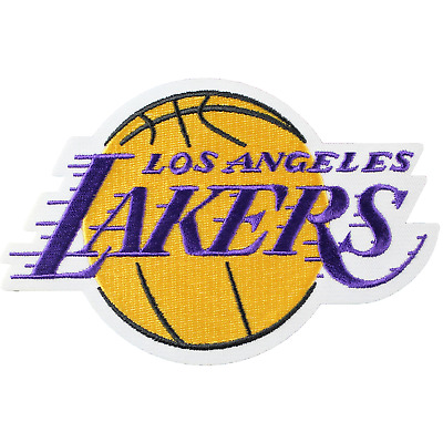 Los Angeles Lakers Official Primary Team Logo Patch Jersey Kobe Bryant