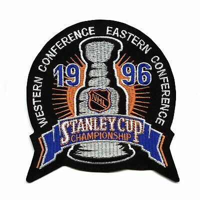 1996 NHL Stanley Cup Logo Jersey Patch Colorado Avalanche Florida Panthers