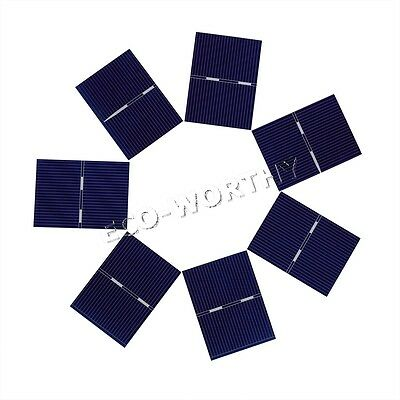 40pcs 52x38mm Solar Cell High Efficiency for DIY 12W Solar Panel Battery Charger