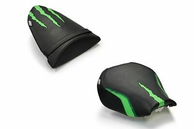 Kawasaki ZX10R 2006-2007 Luimoto Monster Edition Seat Covers Set Front & Rear