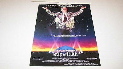 (1992)  READY FOR A MIRACLE from LEAP OF FAITH vintage sheet music