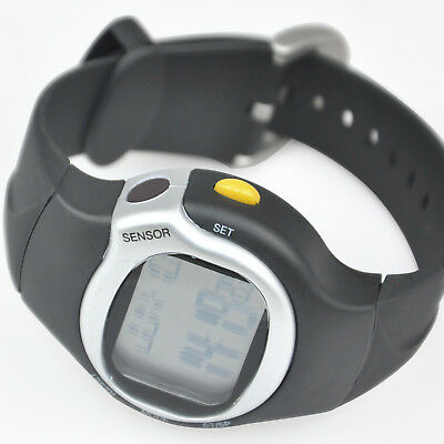 TRIXES Heart Rate BMP Pulse Monitor & Calorie Counter Calendar Alarm Watch.