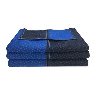 """Moving Blankets Supreme Quality - 6 Pack 72""""x80"""" 80# Strength"""