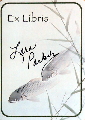 Lara Parker signed bookplate / autograph Dark Shadows