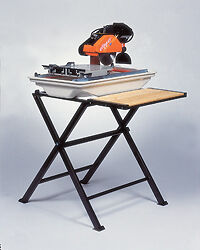 "Norton CTC705 7"" Tile Saw 1/2 HP 115V  Stand Mosaic Bath Kitchen Craft Blade NIB"