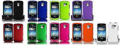 Faceplate Protector Hard Cover Phone Case for LG Optimus Q L55C Zip L75C