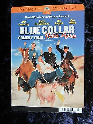 BLUE COLLAR COMEDY TOUR movie backer card JEFF FOXWORTHY (this is NOT a dvd)