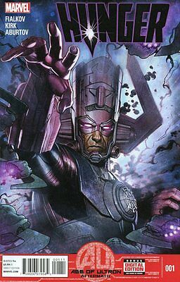 Hunger #1 Comic Book Ultimate Universe 2013 Age of Ultron Galactus - Marvel
