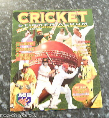 #t2.  1996 - 1997 Select  Cricket Stickers In Album