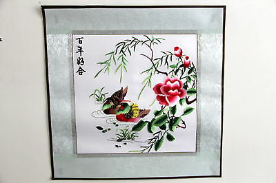Tableau Broderie Chinoise-Chinese Embroidery-Qingming shanghe tu-120cm