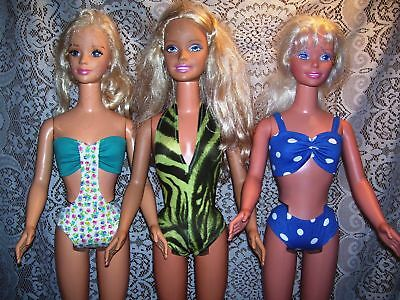 NG Creations Sew Pattern #10 Swimsuits & Cover-ups fits My Size Barbie Doll