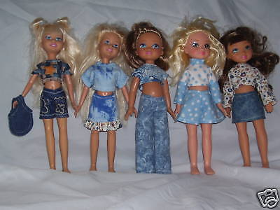 """NG Creations Sewing Pattern #PP76 fits 10"""" Stacie Barbie Sis & MGA 4 Ever Dolls"""