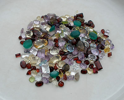 natural gem mix loose parcel lot over 200 carats
