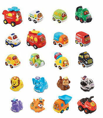 VTech Toot Toot Drivers & Animals - lion taxi van car hippo bus quad tiger zebra