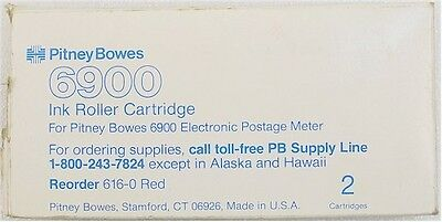 Genuine Pitney Bowes 6900 Ink Roller 616-0 ++FREE SHIP