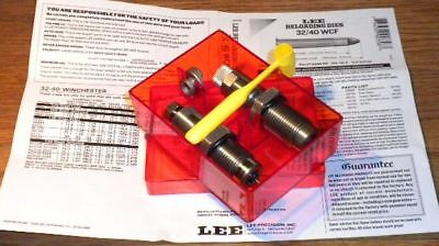 Lee Precision * Pacesetter 2-Die Set for 32-40 WCF *   # 90758    New!