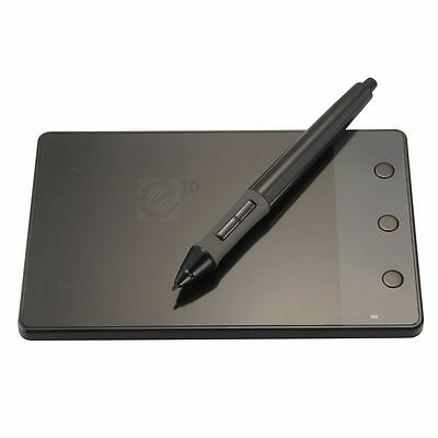 Huion H420 USB Art Graphics Drawing Writing Tablet 4x2.3 For Windows Mac+ Pen