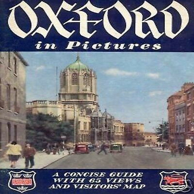 Oxford Guide Illustrata Con Arms Stemmi Araldici Map